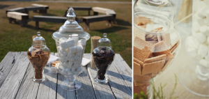 Outdoor Wedding Trend: Self-Serve S'mores